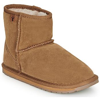 Pantofi Copii Ghete EMU WALLABY MINI Șaten