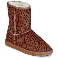 Pantofi Femei Ghete EMU STINGER FUR LO Tigru