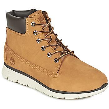 Încăltăminte Copii Pantofi sport stil gheata Timberland KILLINGTON 6 IN Galben-grâu