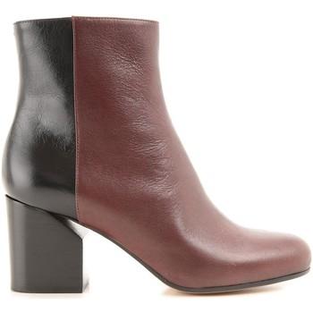 Pantofi Femei Botine Maison Margiela S38WU0284 SX9273 962 Marrone medio