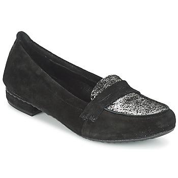 Pantofi Femei Mocasini Regard REMAVO Negru / Catifea