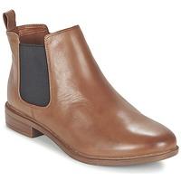 Pantofi Femei Ghete Clarks TAYLOR SHINE Maro