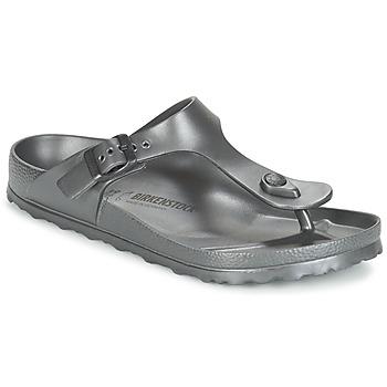 Pantofi Femei  Flip-Flops Birkenstock GIZEH EVA Antracit /  metalic