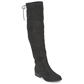Pantofi Femei Cizme lungi peste genunchi Coolway BOPPY Negru