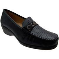 Pantofi Femei Mocasini Calzaturificio Loren LOK3955bl blu