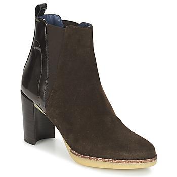 Pantofi Femei Botine Spiral LUPE-1.3 Maro