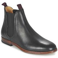 Pantofi Bărbați Ghete Hudson TAMPER CALF Negru