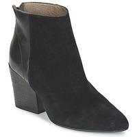 Pantofi Femei Botine Hudson MELI CALF Negru