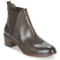 Pantofi Femei Botine Hudson COMPUND CALF Maro