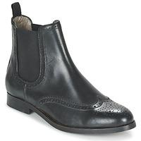 Pantofi Femei Ghete Hudson ASTA CALF Black