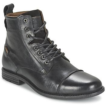 Pantofi Bărbați Ghete Levi's EMERSON LACE UP Negru