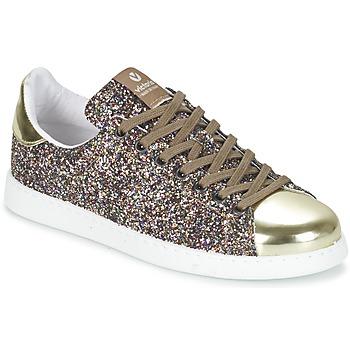 Pantofi Femei Pantofi sport Casual Victoria DEPORTIVO BASKET GLITTER Multicolor
