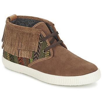Pantofi Femei Pantofi sport stil gheata Victoria SAFARI FLECOS ANTELINA ETNIC Maro
