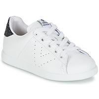 Încăltăminte Fete Pantofi sport Casual Victoria DEPORTIVO BASKET PIEL KID Alb
