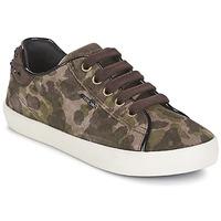 Pantofi Fete Pantofi sport Casual Geox KIWI GIRL Verde