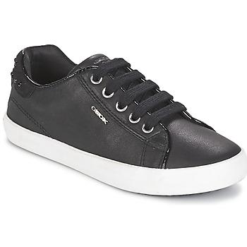 Pantofi Fete Pantofi sport Casual Geox KIWI GIRL Negru