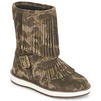 Pantofi Fete Ghete Geox NOHA Verde