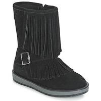 Pantofi Fete Cizme casual Geox NOHA Negru