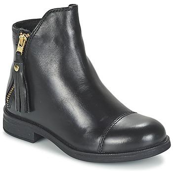 Pantofi Fete Ghete Geox AGATE Negru