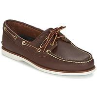Încăltăminte Bărbați Pantofi barcă Timberland CLASSIC 2 EYE Maro