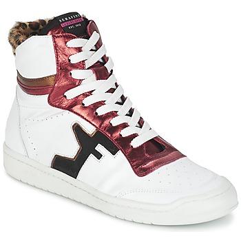Pantofi Femei Pantofi sport stil gheata Serafini SAN DIEGO Alb / Roșu