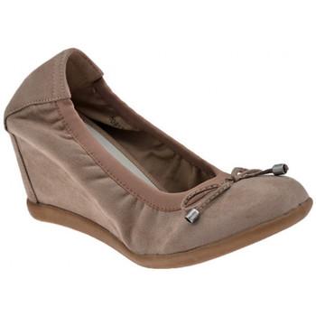 Pantofi Femei Balerin și Balerini cu curea F. Milano  Gri