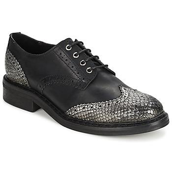 Pantofi Femei Pantofi Derby Koah LESTER Black / Silver