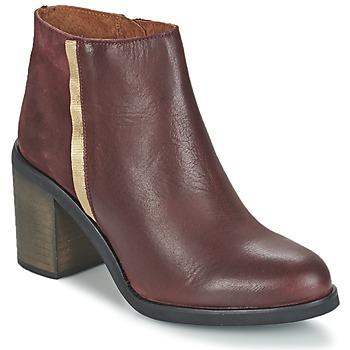 Pantofi Femei Botine Casual Attitude FELICITA  bordeaux