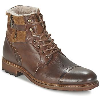 Pantofi Bărbați Ghete Casual Attitude FIRDAOUS Maro