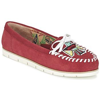 Pantofi Femei Mocasini Miss L'Fire YHUNDERBIRD Roșu