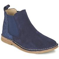 Pantofi Fete Ghete Citrouille et Compagnie FIGOULI Albastru