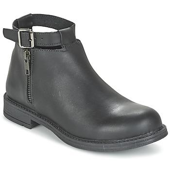 Pantofi Fete Ghete Citrouille et Compagnie FRIZZY Negru