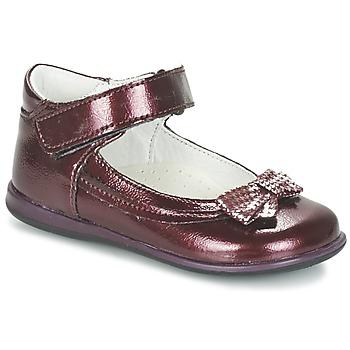 Pantofi Fete Balerin și Balerini cu curea Citrouille et Compagnie FRIZZY Roșu-bordeaux