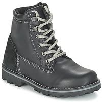 Pantofi Băieți Ghete Citrouille et Compagnie FACOSA Negru