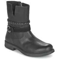 Pantofi Fete Ghete Citrouille et Compagnie FURAMO Negru