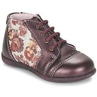 Pantofi Fete Ghete Citrouille et Compagnie FRICOL Violet