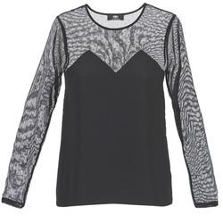 Îmbracaminte Femei Tricouri mânecă scurtă Le Temps des Cerises ALANNAH Negru