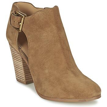 Pantofi Femei Botine MICHAEL Michael Kors ADAMS Camel