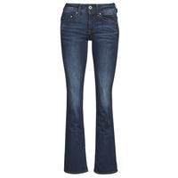 Îmbracaminte Femei Jeans bootcut G-Star Raw MIDGE SADDLE MID BOOTLEG Albastru