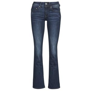 Îmbracaminte Femei Jeans bootcut G-Star Raw MIDGE SADDLE MID BOOTLEG Neutro / Stretch / Denim / Dk / Aged