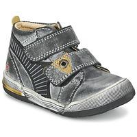 Pantofi Băieți Ghete GBB NATHAN Gri / Galben