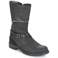 Pantofi Fete Cizme casual Ikks FLORA Negru