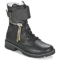 Pantofi Fete Ghete Ikks PEGGY Negru