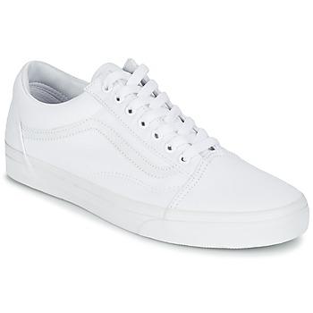 Încăltăminte Pantofi sport Casual Vans OLD SKOOL Alb