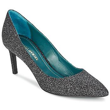 Încăltăminte Femei Pantofi cu toc Sonia Rykiel 677620 Negru / Glitter