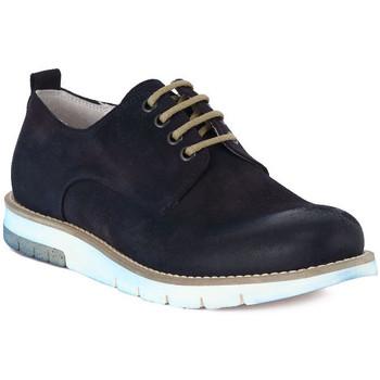 Pantofi Bărbați Pantofi Derby Pawelk's PAWELKS CAMOSCIO EXEL Blu