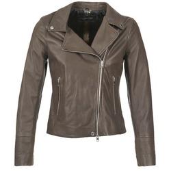 Îmbracaminte Femei Jachete din piele și material sintetic Oakwood 62049 Gri / LuminoasĂ