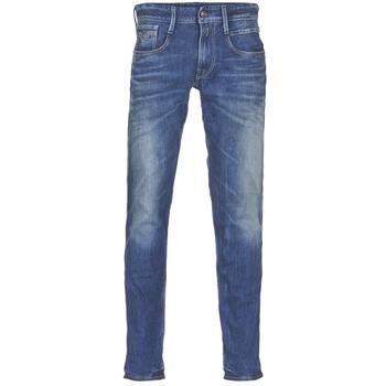 Îmbracaminte Bărbați Jeans slim Replay ANBASS Albastru / Medium