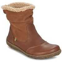 Pantofi Femei Ghete El Naturalista NIDO Maro