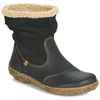 Pantofi Femei Ghete El Naturalista NIDO Negru
